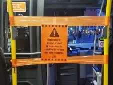 Syntus plaatst 'kuchschermen': in oktober weer voorin instappen in de bus