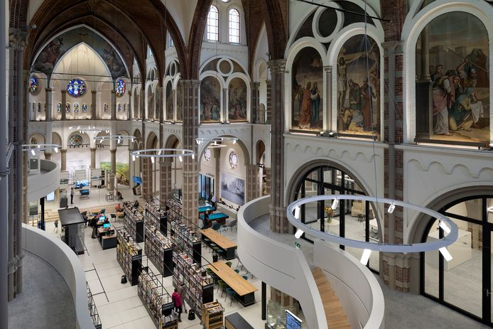 De bibliotheek in DePetrus in Vught maakt kans op de titel 'Beste Bibliotheek van Nederland'.