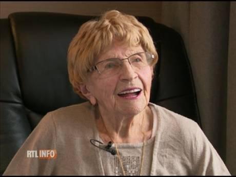 La Liégeoise Marcelle Lévaz, 110 ans, doyenne du Benelux