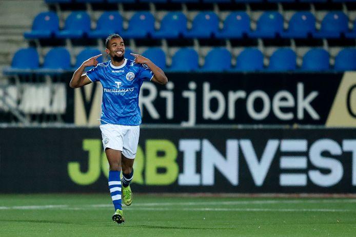 Invaller Ryan Trotman was met twee doelpunten vrijdag het goudhaantje bij FC Den Bosch.