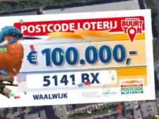 Meespelende buurtgenoten Van Assendelftstraat in Waalwijk winnen 100.000 euro bij Postcodeloterij