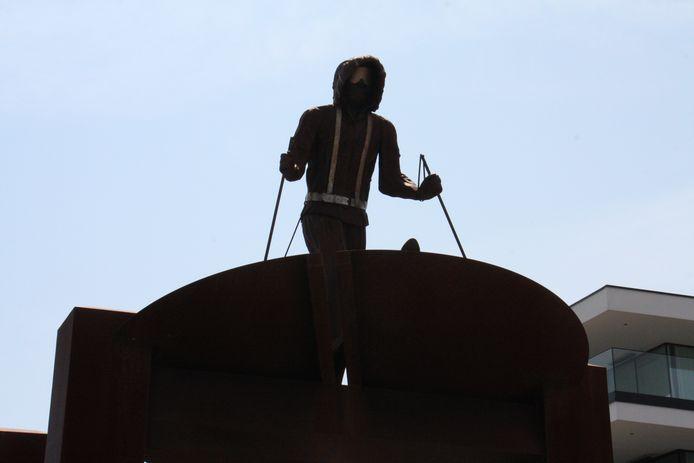 Freddy Cappon maakte dit kunstwerk toen Dansercoer in 2007 vanuit Nieuwpoort vertrok op Belgica-expeditie.
