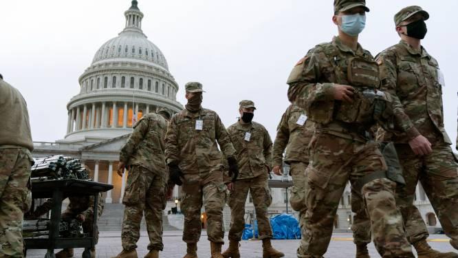 IN BEELD. Alle Amerikaanse staten in hoogste paraatheid voor gewapende protesten in aanloop naar inauguratie Joe Biden
