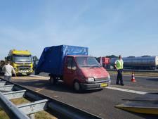 'Kippendrama' veroorzaakt lange file op A28 bij Meppel