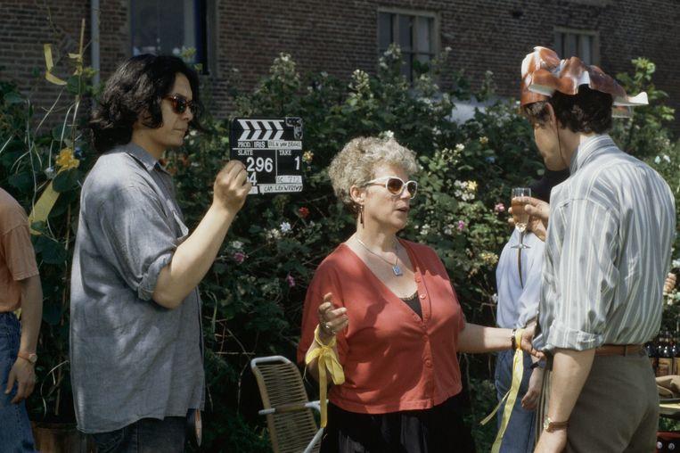 Regisseur Nouchka van Brakel aan het werk. Beeld ANP