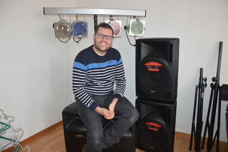Jeroen Wiggeleer alias dj Franzke.