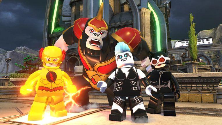 De superhelden van DC Comics hebben al een paar keer hun eigen Legogame gehad, nu is het tijd voor hun tegenstanders. Beeld WB Games