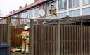 De brand, die ontstond in de keuken, zorgde voor een enorme schade.