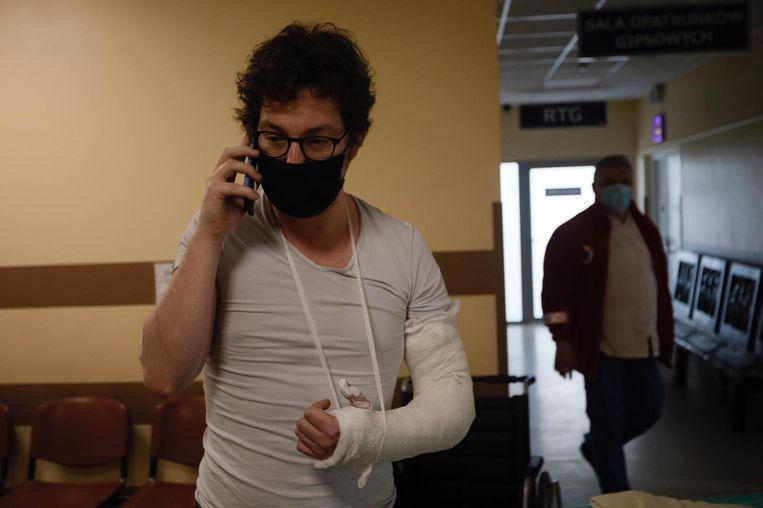 Ik had de mazzel mijn elleboog te breken op een plek waar jaarlijks honderden skiërs en bergbeklimmers in het ziekenhuis eindigen.  Beeld Piotr Malecki