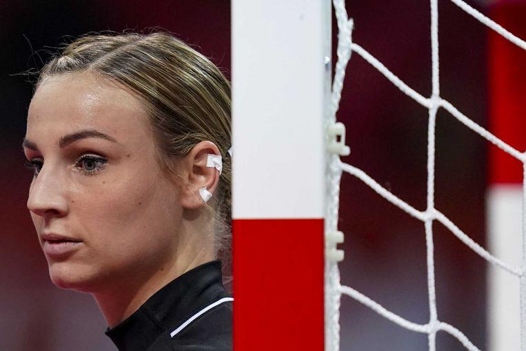 Rinka Duijndam dient zich aan als de nieuwe doelvrouw van de nationale ploeg. Beeld ANP