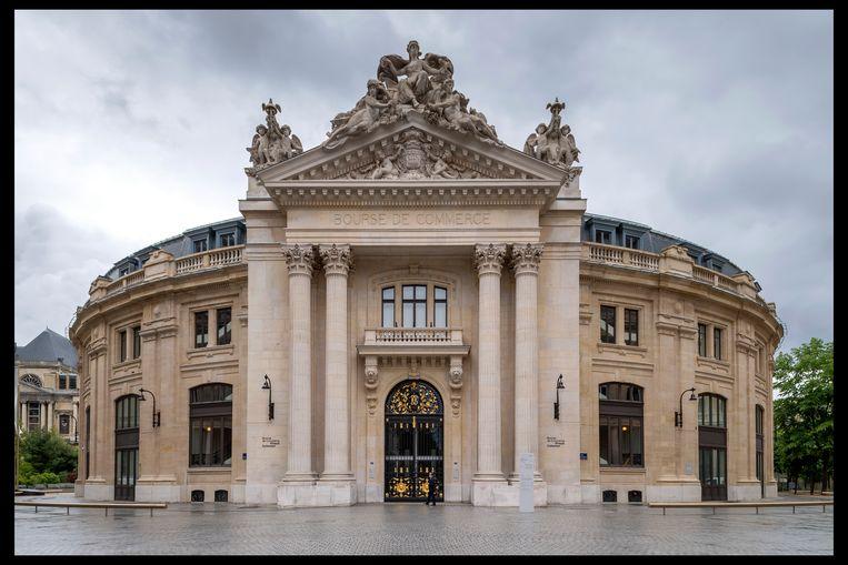 De voormalige Bourse de Commerce, nu de Collection Pinault, in het hart van Parijs. Beeld Getty Images