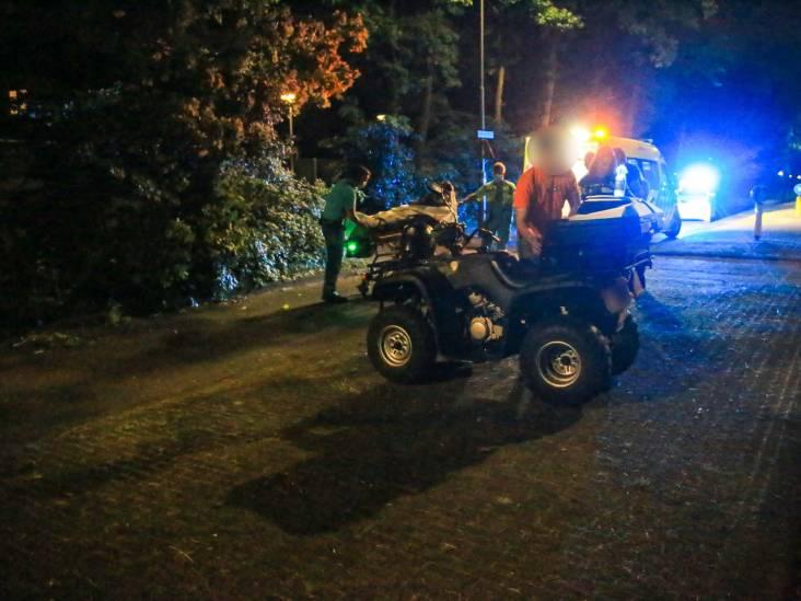 Quad raakt van de weg in Helmond en botst op boom