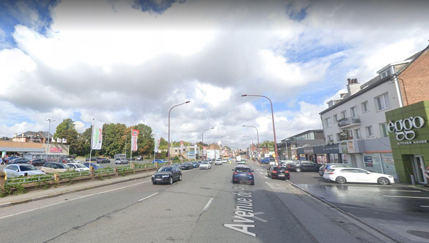Avenue de Philippeville à Marcinelle (Charleroi)