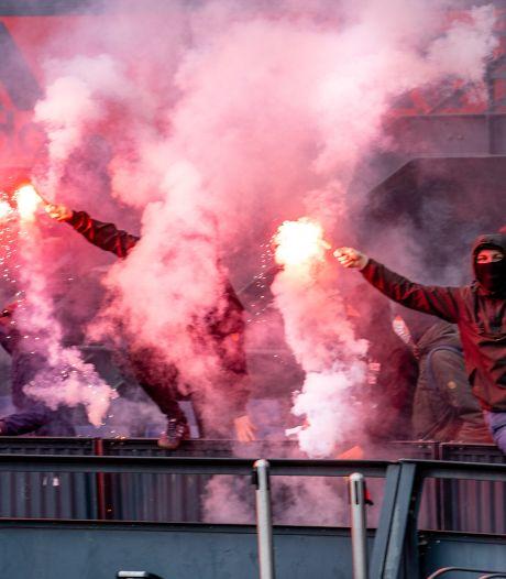 KNVB start vooronderzoek naar Feyenoord-fans die stadion binnendrongen