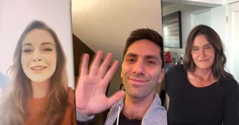 Lindsay Lohan, Nev Schulman en Caitlyn Jenner spreken hun fans - tegen betaling - toe via het platform Cameo.