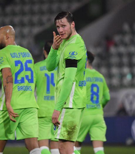 Weghorst schittert in sensationele overwinning van VfL Wolfsburg