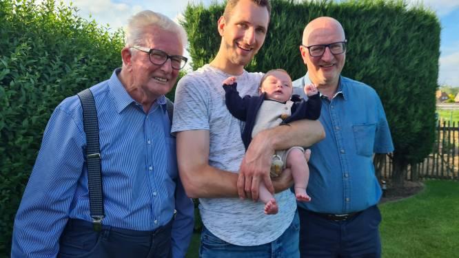 Jakob zorgt voor viergeslacht bij familie Delbaere