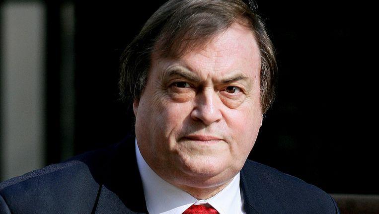 John Prescott, vicepremier onder Tony Blair toen die in 2003 besloot dat het Verenigd Koninkrijk de Amerikanen zou steunen om Irak binnen te vallen. Beeld REUTERS