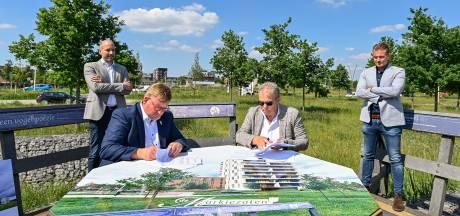 In de Markiezaten wordt flink gebouwd: drie wooncomplexen met 110 appartementen