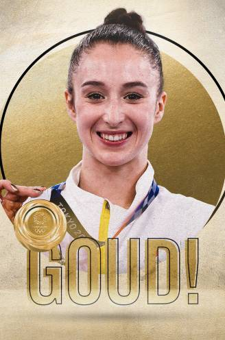 GOUD! Nina Derwael, die goud voelde aankomen, kroont zich tot olympisch kampioene aan brug met ongelijke leggers