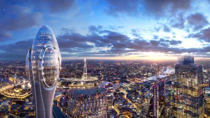 Londense skyline oogt steeds futuristischer