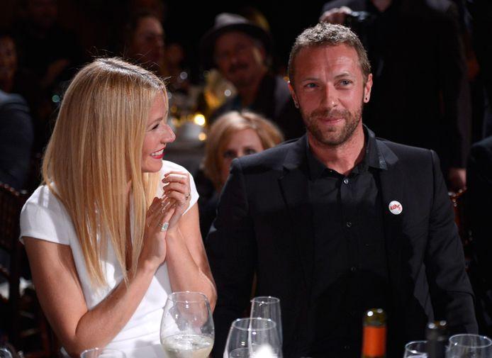 Gwyneth Paltrow en Chris Martin in 2014