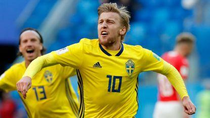 Zlatan wie? Zweeds sprookje blijft maar duren, Forsberg zorgt voor Zwitserse kater en knalt zijn land naar kwartfinales