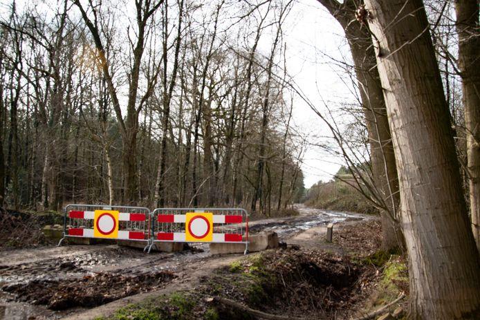 Afsluiting Oude Trambaan Esbeek