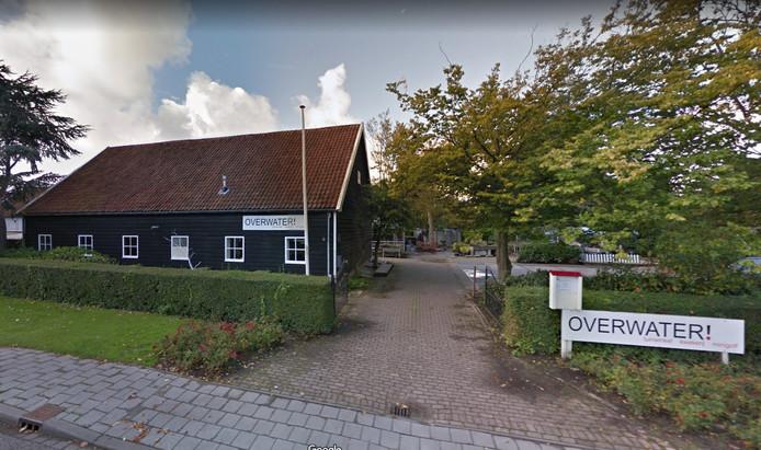 Locatie Overwater van Arduin aan de Langevielesingel in Middelburg.