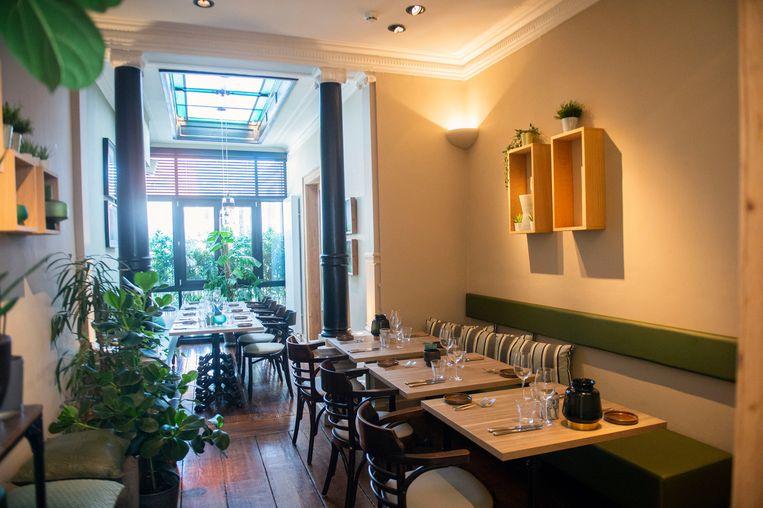 Boven is er ruimte voor private dining