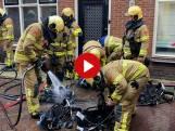 Woningbrand in centrum Harderwijk: deel binnenstad op slot