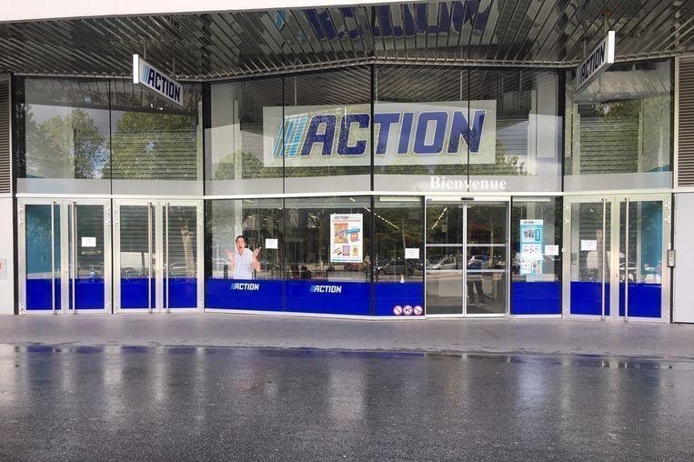 Negen jaar na de eerste Action in Frankrijk opent nu een filiaal in de hoofdstad. Beeld RV