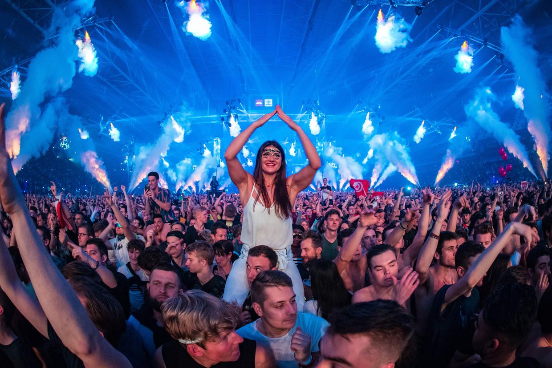 Het Amsterdam Musical Festival, een onderdeel van Amsterdam Dance Event (ADE), in oktober 2019, toen het coronavirus nog ver weg was. Beeld Hollandse Hoogte /  ANP Kippa