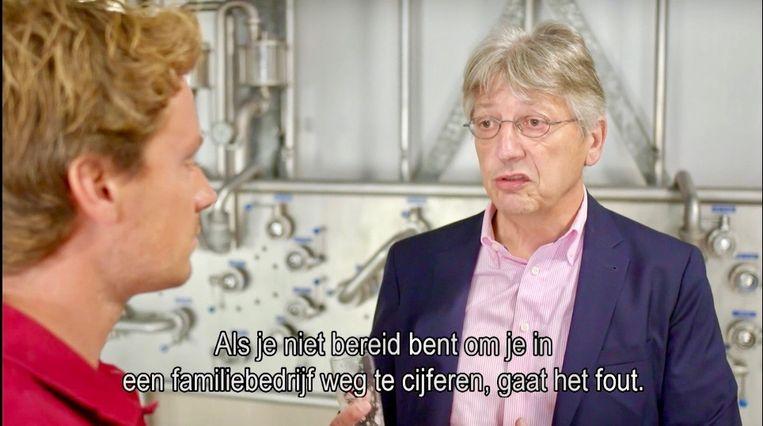 Harry Meens van bierbrouwerij Alfa uit Limburg. Beeld Renate Van Der Bas