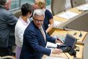 Kris Van Dijck (N-VA) is de nieuwe voorzitter van het Vlaamse parlement.