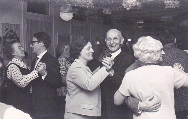 Foto uit de beginjaren van vereniging Het Open Huis die in 1968 werd opgericht. Beeld Archief Het Open Huis