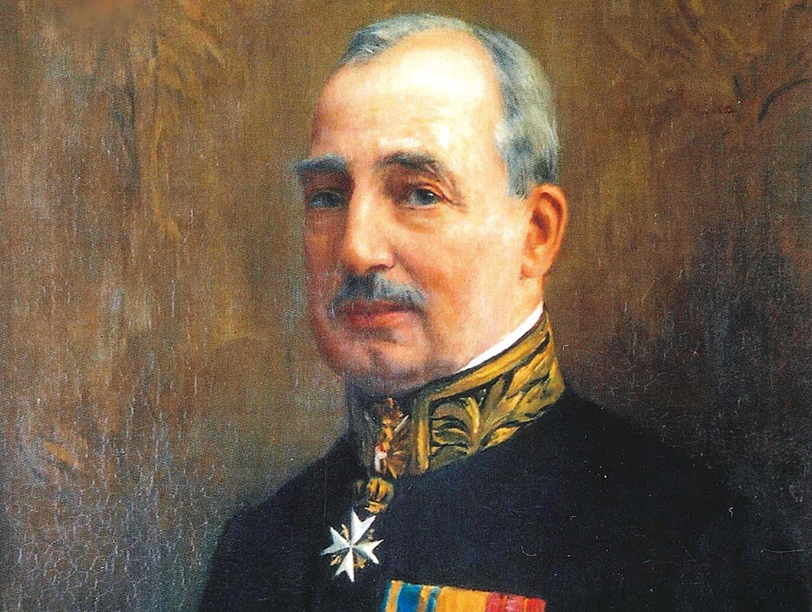 Arthur baron van Voorst tot Voorst (1858-1928) op een schilderij van Piet Slager (1871-1938) uit 1933.