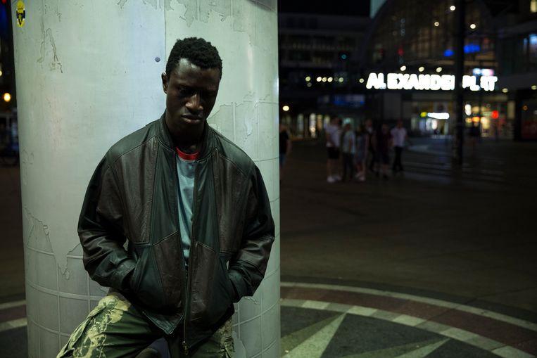 Welket Bungué als Francis in 'Berlin Alexanderplatz'. Beeld Sommerhaus Filmproduktion