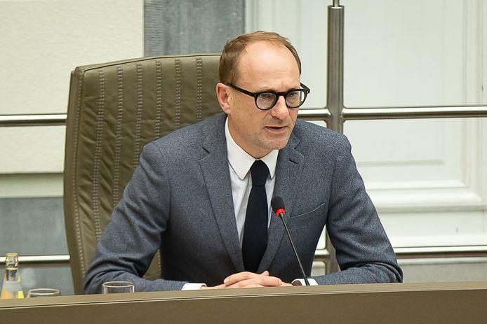 Ben Weyts, ministre flamand de l'Enseignement (N-VA).