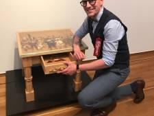 'Gaaf dat mijn tafel nu in het Rijksmuseum staat!'