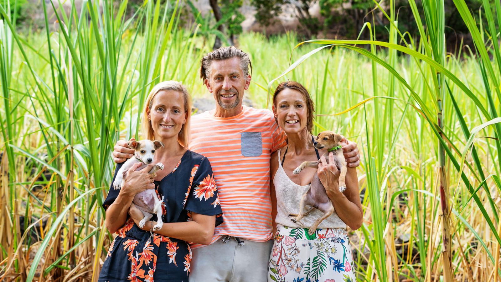 Boer Etienne kiest voor Sabine en Rebecca