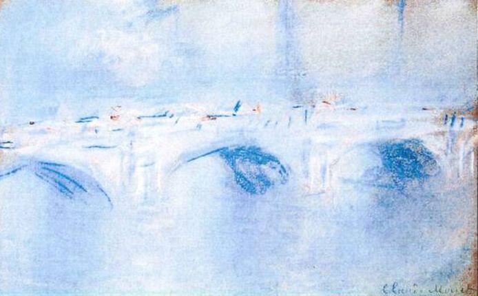Claude Monet: 'Waterloo Bridge, London' (1901)