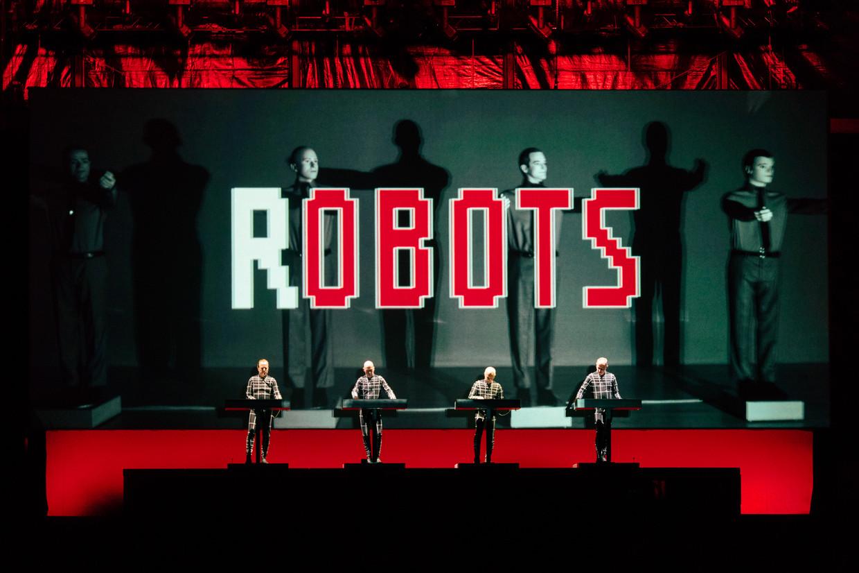 Kraftwerk op Best Kept Secret 2019. Beeld Damon De Backer