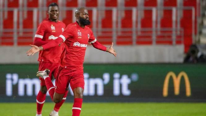 Lamkel Zé met twee goals belangrijk voor Antwerp in zege tegen Waasland-Beveren, dat zich kranig verweert op de Bosuil