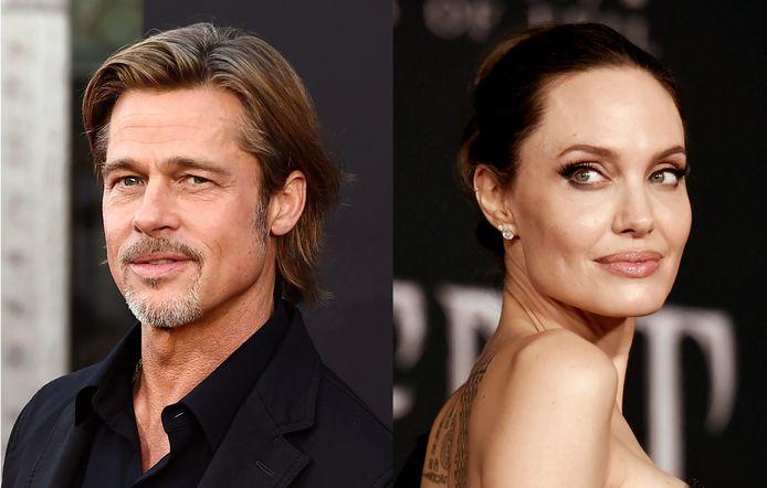 Op de foto: Brad Pitt versus Angelina Jolie.