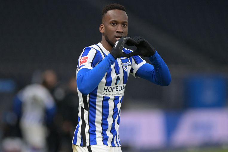 Dodi Lukebakio (Hertha BSC). Beeld AFP