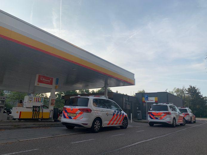 Overval op de Shell in Den Bosch.