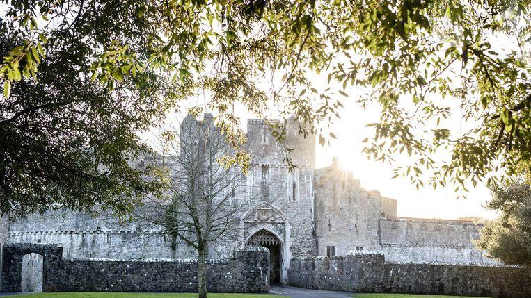 Het UWC of the Atlantic College is gevestigd in het St Donat's Castle in Wales.  Beeld EPA