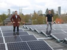 De energie spat van het dak op het Parktheater in Eindhoven