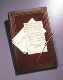 Het  eerste testament uit 1819. Wanneer hij de dood echt voelt naderen, schrijft Napoleon een tweede versie